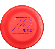 Дог-фризби Hyperflite Z-Disc Red